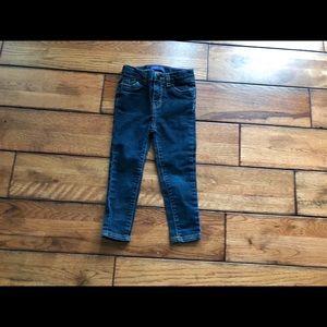 Levi's 24 month denim skinny jeans